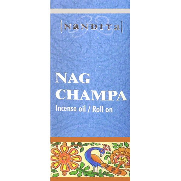 Huile parfumée nandita nag champa