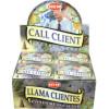 Encens cônes Hem attire clients, call client