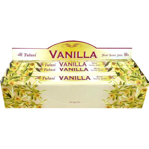 Boite d'encens tulasi vanille 20 gr