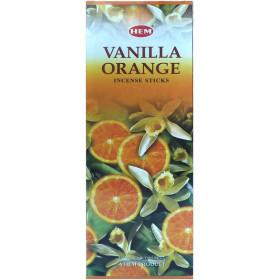 Encens hem orange vanille 20 grammes