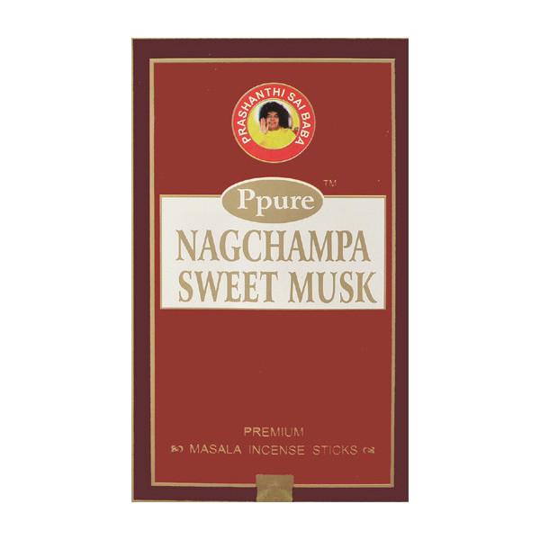 Encens bâtons Ppure nagchampa sweet musk