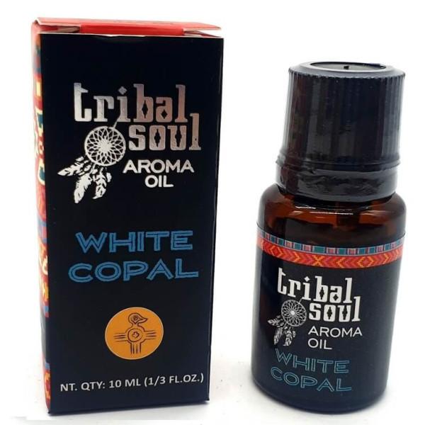 Flacon d'huile parfumée Tribal Soul copal blanc