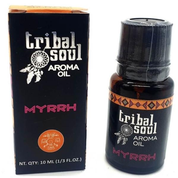 Flacon d'huile parfumée Tribal Soul myrrhe