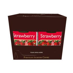 Cônes d'encens Tulasi fraise
