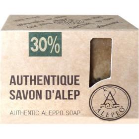 Savon d'Alep à 30 % d'huile laurier en 200 gr