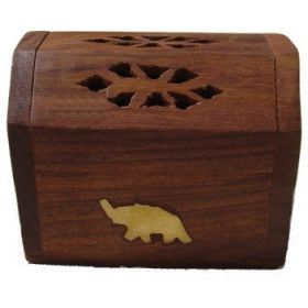 Elefantenkegelbox Weihrauchhalter