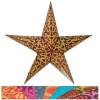 Lampion étoile papier déco
