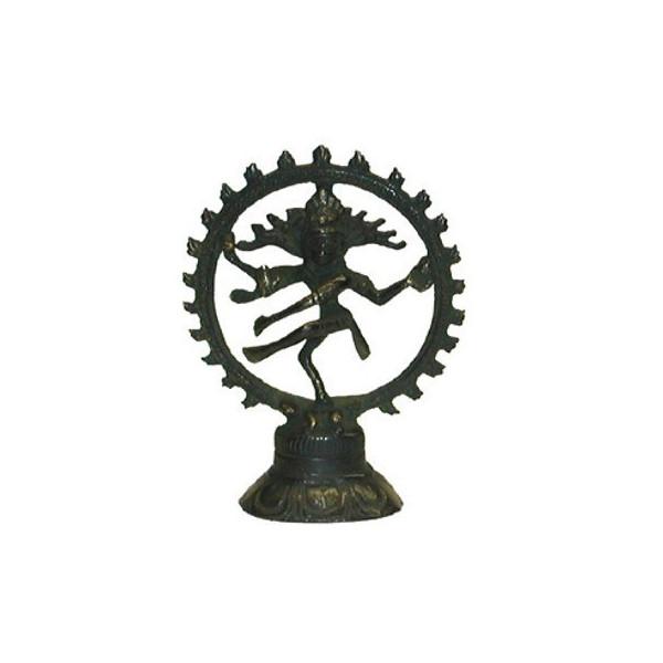 Shiva dansant laiton 12cm.