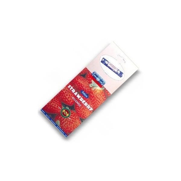Encens batons satya fraise.