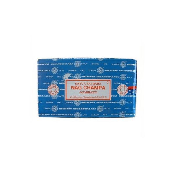 Nag Champa Weihrauch - Räucherstäbchen aus einer Satya-Packung mit 1 kg