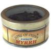 Boite d'encens de résine de myrrh