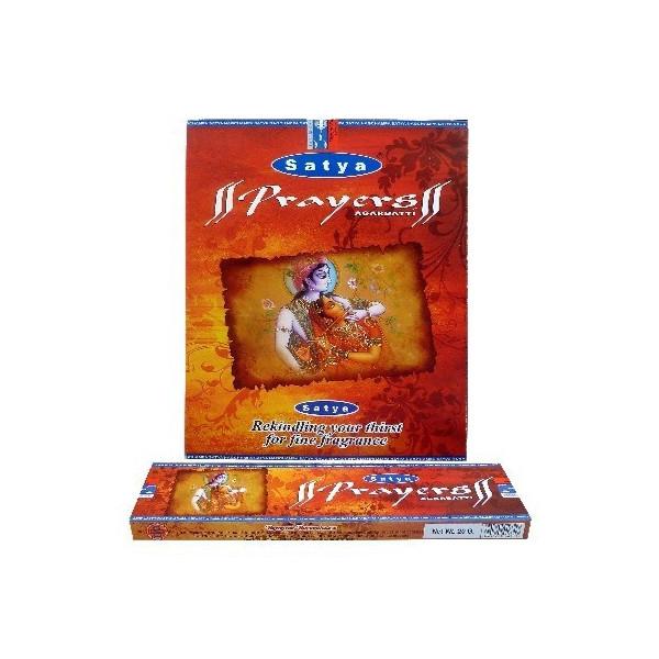 Encens satya prayers boite de 20 gr