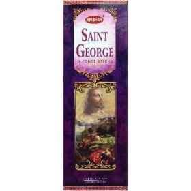 Boite d'encens saint georges