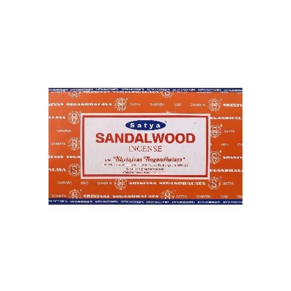 Encens batons satya sandalwood 15 gr