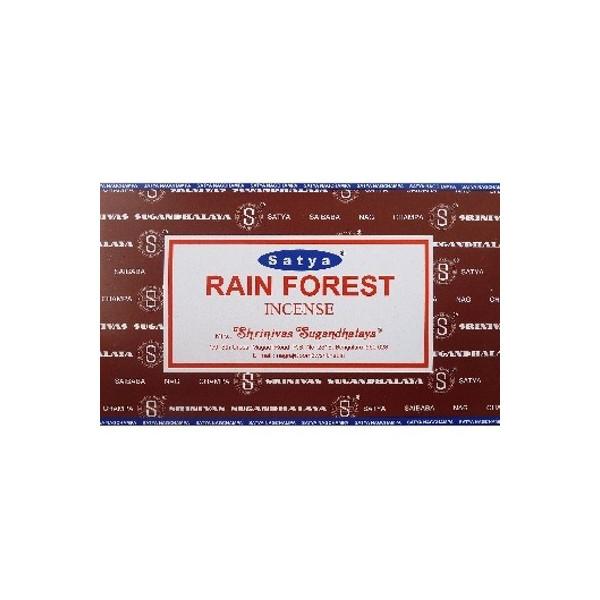 Encens batons satya rain forest 15 gr