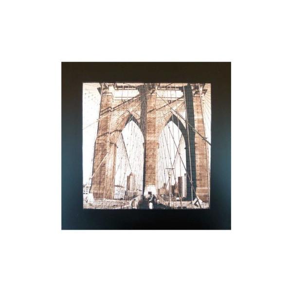 Brooklyn Bridge Holztisch.