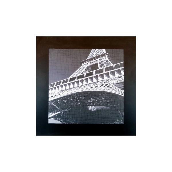 Eiffelturm Holzmalerei
