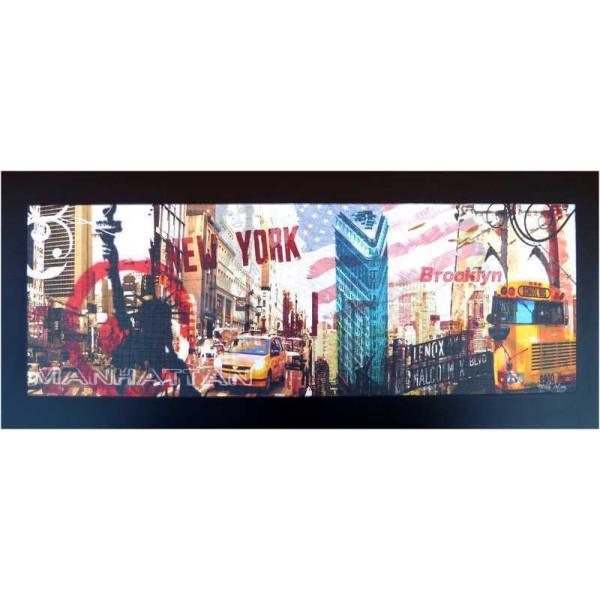 Tableau bois new york brooklyn