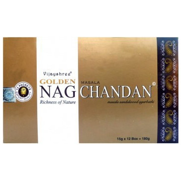 Encens golden nag chandan 15gr.