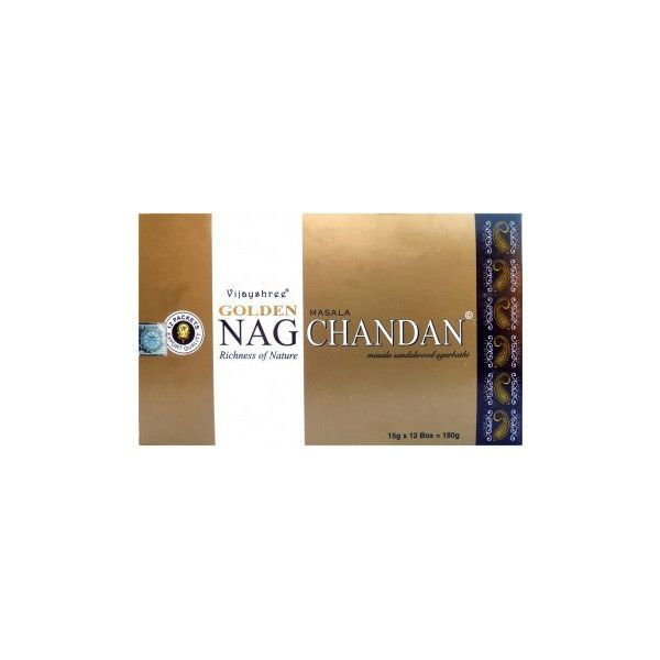 Encens golden nag chandan 15gr