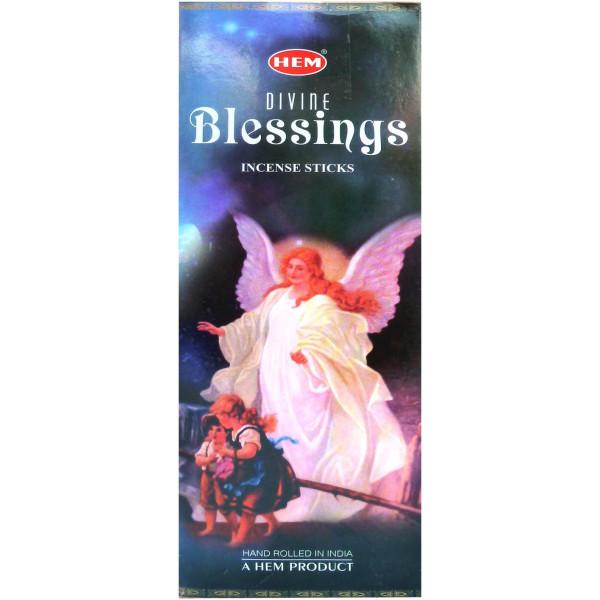 Encens hem divine blessings.