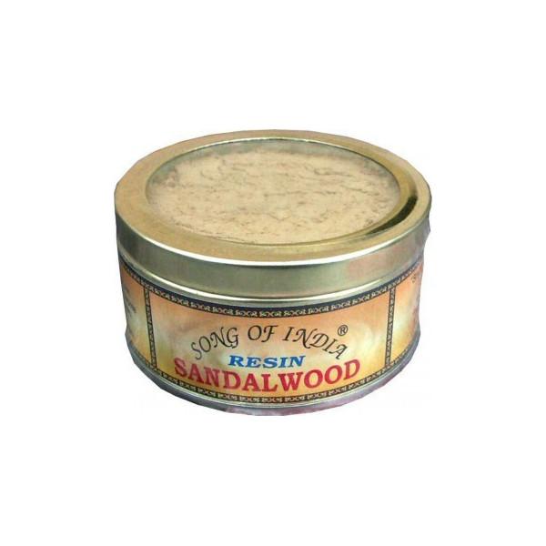 Encens resine santalwood