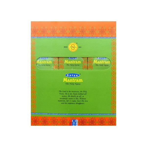 Encens batons satya Mantram 30 gr.