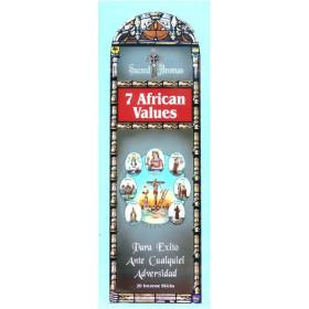 Encens Tulasi les 7 valeurs africaines