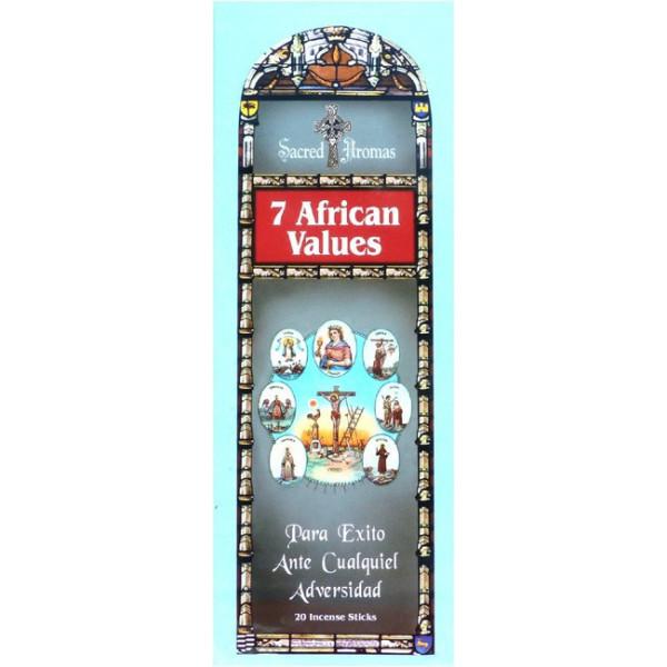 Weihrauch Tulasi die 7 afrikanischen Werte