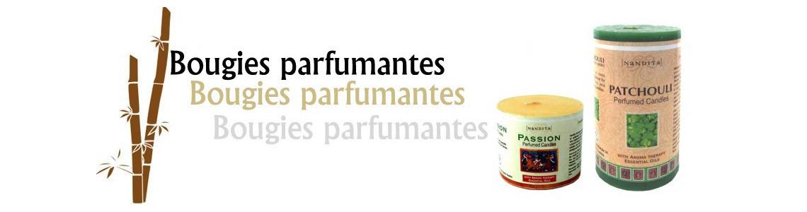 Bougies parfumantes